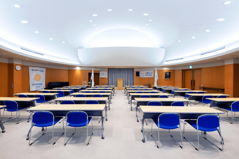 長泉ロータリークラブの会議室の写真
